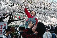Hanami au parc d'Ueno