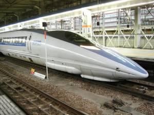 Le nouveau Shinkansen (500)