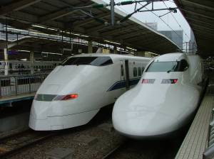 Les anciens Shinkansen (300 et 700)